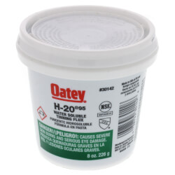 H-20 No. 95 Water Soluble Tinning Flux (8 oz) Product Image