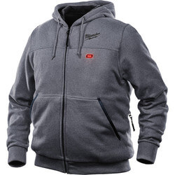 M12 Grey Heated Hoodie Only (Medium) Product Image