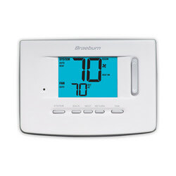 "Non-Programmable 1H/1C<br>Thermostat w/ 3""<br>Display - Premier Series Product Image"