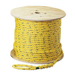 "Pro-Pull Polypropylene Rope, 1/4"" x 250 ft. Product Image"
