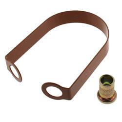 """2"""" Copper Epoxy Coated Em-Lok Swivel Ring Product Image"""