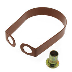 """3"""" Copper Epoxy Coated Em-Lok Swivel Ring Product Image"""