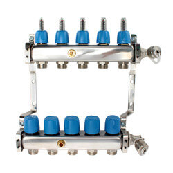 """5 Loop 1-1/4"""" Stainless Steel Manifold (Fully Assembled) Product Image"""
