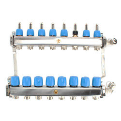 """8 Loop 1-1/4"""" Stainless Steel Manifold (Fully Assembled) Product Image"""