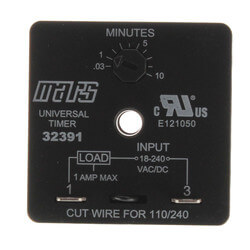 Adjustable Delay on Make Time Delay Product Image