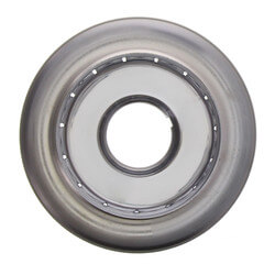 "1/2"" NPT, 2 Piece Recessed Chrome Escutcheon (3/4"" Adj. x 2-7/8"" Diameter)"