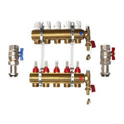 5 Loop Radiant Heat Manifold (EK25) Product Image