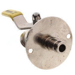 """1/2"""" Expansion PEX x 3/4"""" Hose Brass Sillcock, 1/4 Turn & Lever Handle (LF) Product Image"""