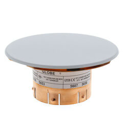 "3-5/16"" ""The Inch"" White Concealed Cover Plate (135°F) Product Image"