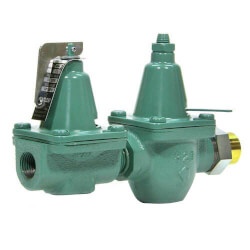 Taco Cast Iron Pressure Reducing Valve<br>Dual Control (Sweat) Product Image