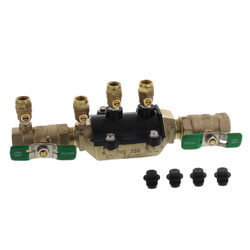 """3/4"""" Wilkins 350XL Double Check Valve Assembly (Lead Free) Product Image"""