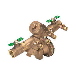 "3/4"" Wilkins 975XL2S RPZ with Bronze Wye Strainer (Lead Free) Product Image"
