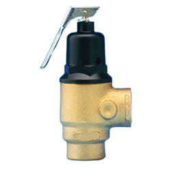 "3/4"" Pressure Safety Relief Valve, 75 psi"