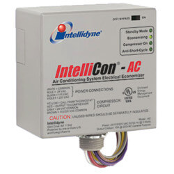 IntelliCon-AC Central Air Conditioning Electrical Consumption Economizer