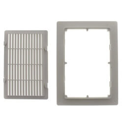 """6"""" x 9"""" Louvered Sure-Vent Access Panel Product Image"""