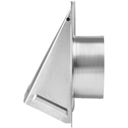 "5"" Aluminum Wall Vent Product Image"