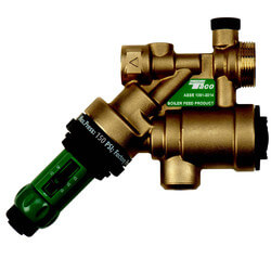 "1/2"" Combination Boiler Feed Valve & Backflow (Sweat) Product Image"