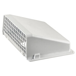 "5"" Aluminum Wall Vent w/ Screen Product Image"
