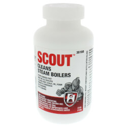 Scout, Steam Boiler Cleaner - 4 oz.
