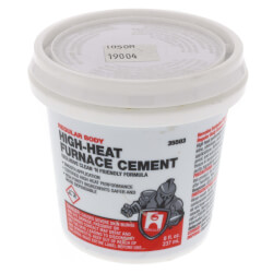 1/2 pt. Regular Body Furnace Cement