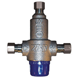 "3/8"" Lead Free Thermostatic Mixing Valve 95 to 115°F (Compression)"