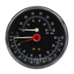 Combination Pressure Temperature Gauge Kit Product Image