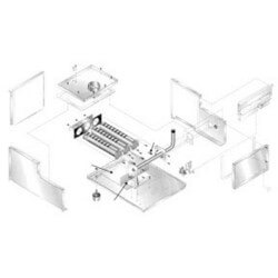 Inlet air box front panel kit Product Image