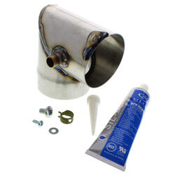 Vent Elbow Replacement Kit (Stainless Steel) for GV Boilers