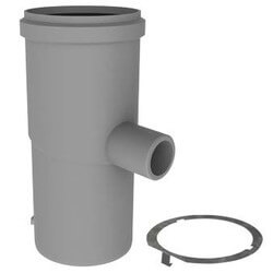 """3"""" x 7"""" PolyPro Condensate Drain w/ LB2 Product Image"""