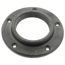 "4"" Black Cast Iron Floor Flange Product Image"