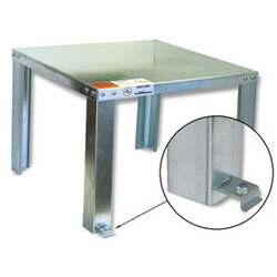 Unassembled Water Heater Stand<br>(Up to 100 Gal.) Product Image
