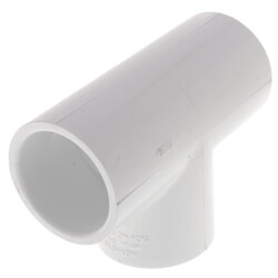 """1"""" PVC Sch 40 Tee Product Image"""
