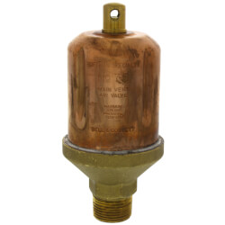 "75, 1/2"" x 3/4"" Straight Steam Main Air Valve"