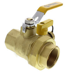 "1-1/4"" Threaded Pro-Pal Union Ball Valve w/ Hose Drain (Lead Free) Product Image"