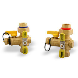 "3/4"" IPS Tankless Water Heater Isolation Valves"