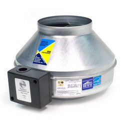 """FG Series Round Inline Exhaust Fan, 10"""" Duct, 230V (589 CFM) Product Image"""