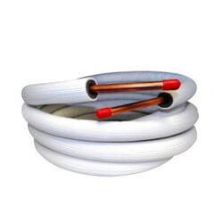 "1/4"" LL x 3/8"" SL Mini Split Line Set w/ Flare Nuts & EZ Pull Insulation (30 Ft.) Product Image"