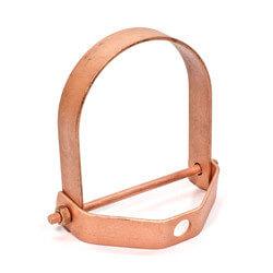 "4"" Copper Clevis Hanger Product Image"
