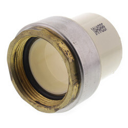 "1-1/2"" CTS CPVC Female Adapter w/ Gasket<br>(Socket x Brass FPT) Product Image"