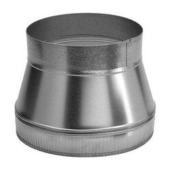 """10"""" to 8"""" Round Duct Transition for 504 Product Image"""