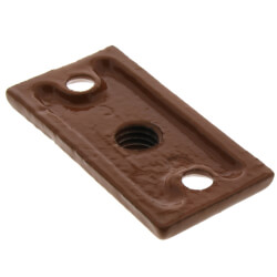 "1/2"" Copper Epoxy Coated Ceiling Plate Product Image"