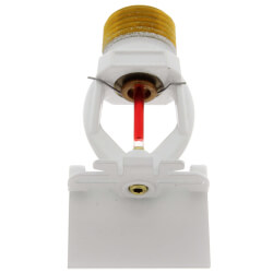 White Polyester Horizontal Sidewall Sprinkler Head - 155°F Product Image
