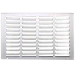 "16"" x 10"" White<br>Return Air Grille <br>(650 Series) Product Image"