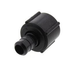 """1/2"""" PEX Crimp x 1/2"""" Lav Adapter (Plastic Nut)"""