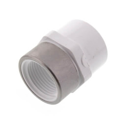 """3"""" PVC Sch. 40<br>Spec. Reinforced<br>Female Adapter Product Image"""