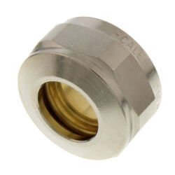 "1/2"" Compression Fitting for Manifolds Product Image"