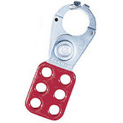"1"" Jaw Safety Lockout Hasp (Card of 3) Product Image"