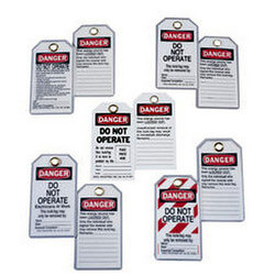 Heavy-Duty Laminated Lockout Tag (Card of 5) Product Image