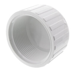"3/8"" PVC Sch. 40<br>Female Cap Product Image"