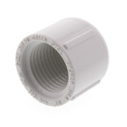 "1/2"" PVC Sch. 40<br>Female Cap Product Image"